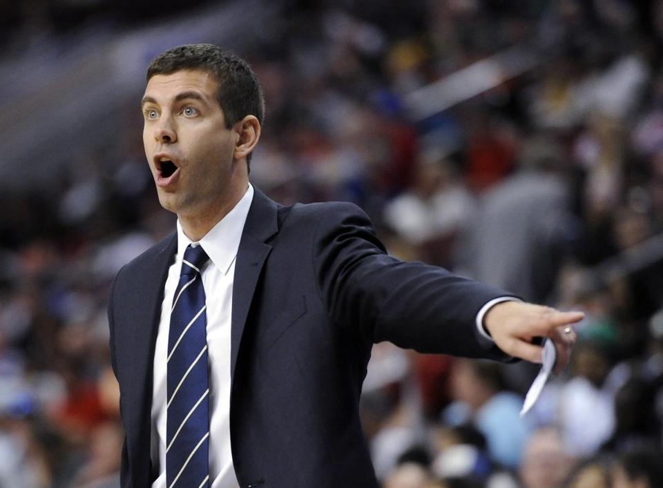 When Brad Stevens turns back to talk with his top assistant next season, it'll be Jay Larranaga, not Ron Adams. Michael Perez/Associated Press